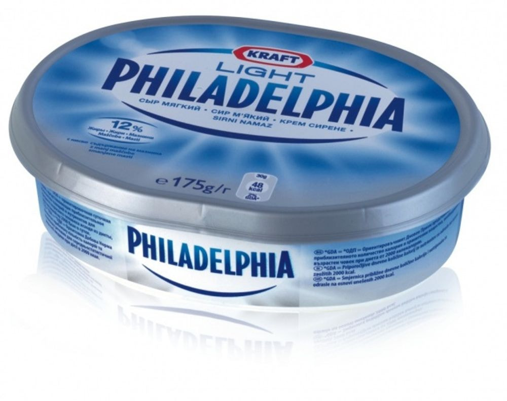 Philadelphia 175g light spreads