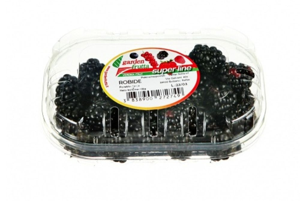 Blackberries in the basket, 125g, packaged
