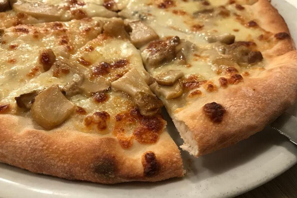 Pizza Bianca Autunno