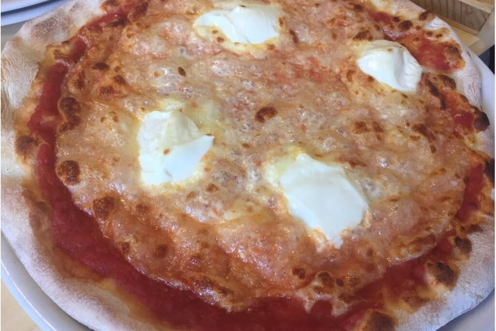 Pizza Mascarpone