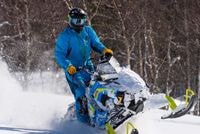 Half Day Snowmobile Rental from 12 to 4pm