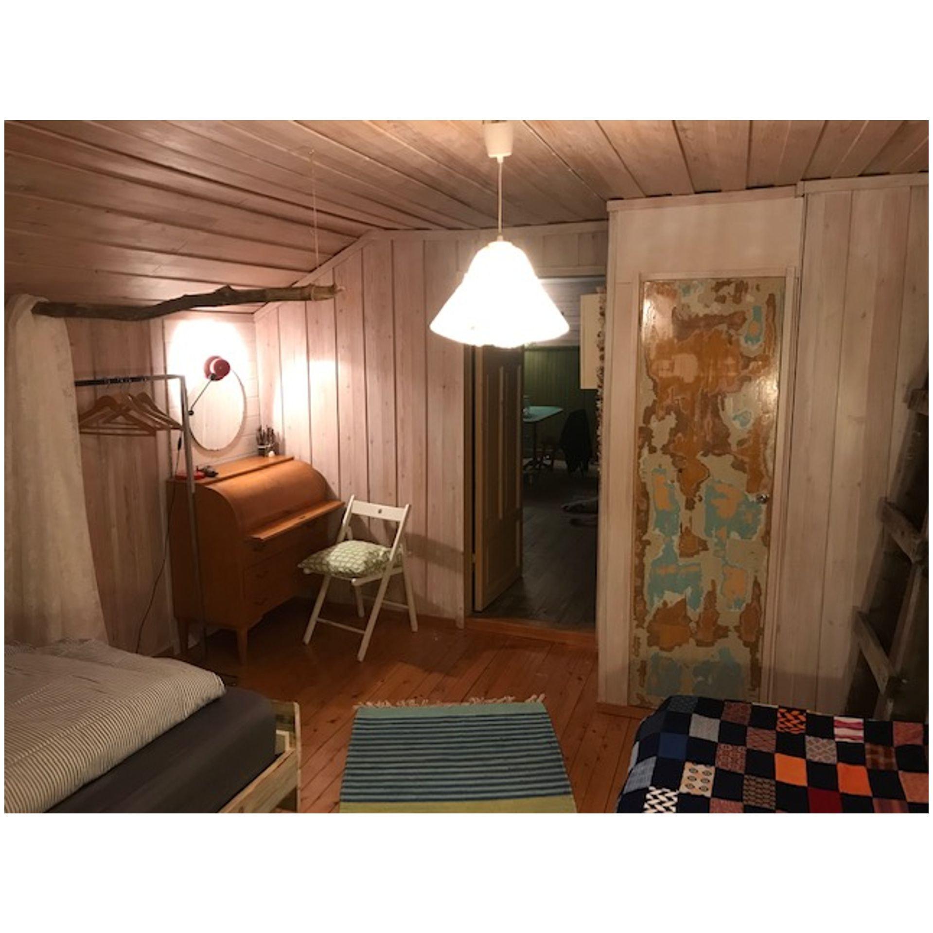 cabin, interior, cozy