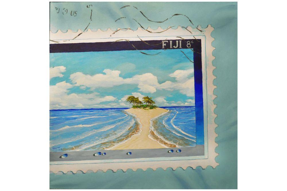 Fiji 8 cent