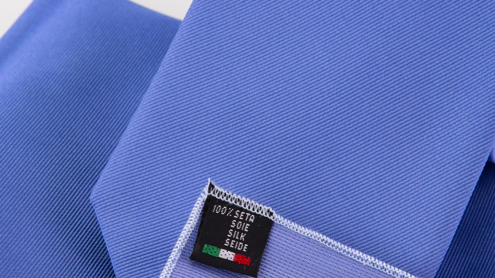 Cravatte in pura seta fatte a mano