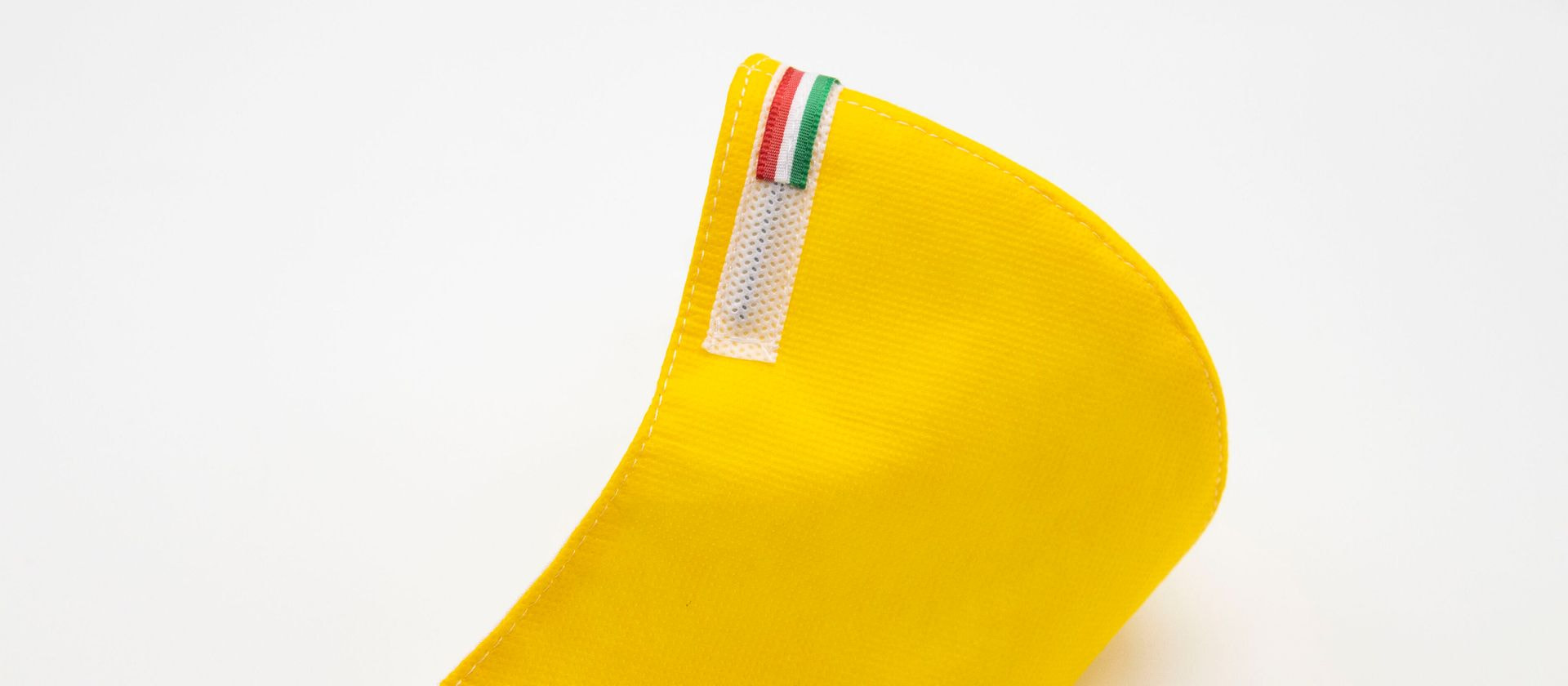 Mascherina Protettiva Fashion Lavabile gialla XXL E