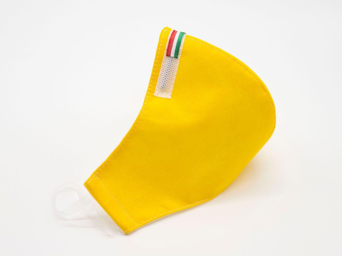 Mascherina Protettiva Fashion Lavabile gialla