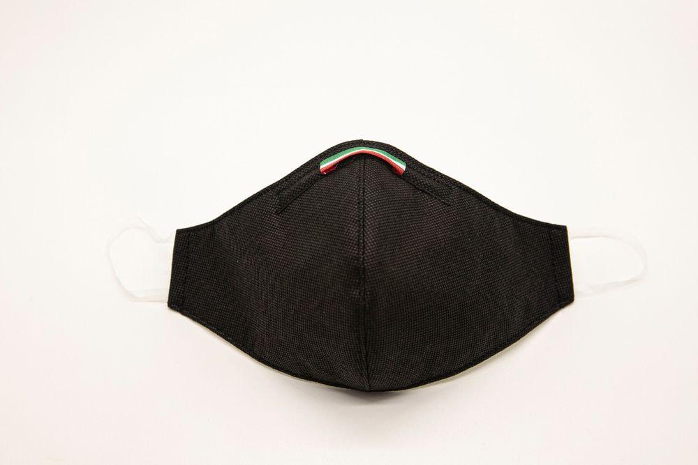 Mascherina Protettiva Fashion Lavabile Nera