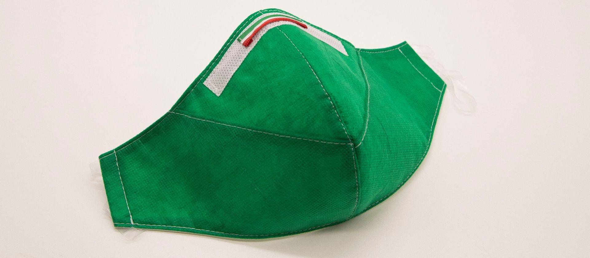 Mascherina Protettiva Fashion Verde L
