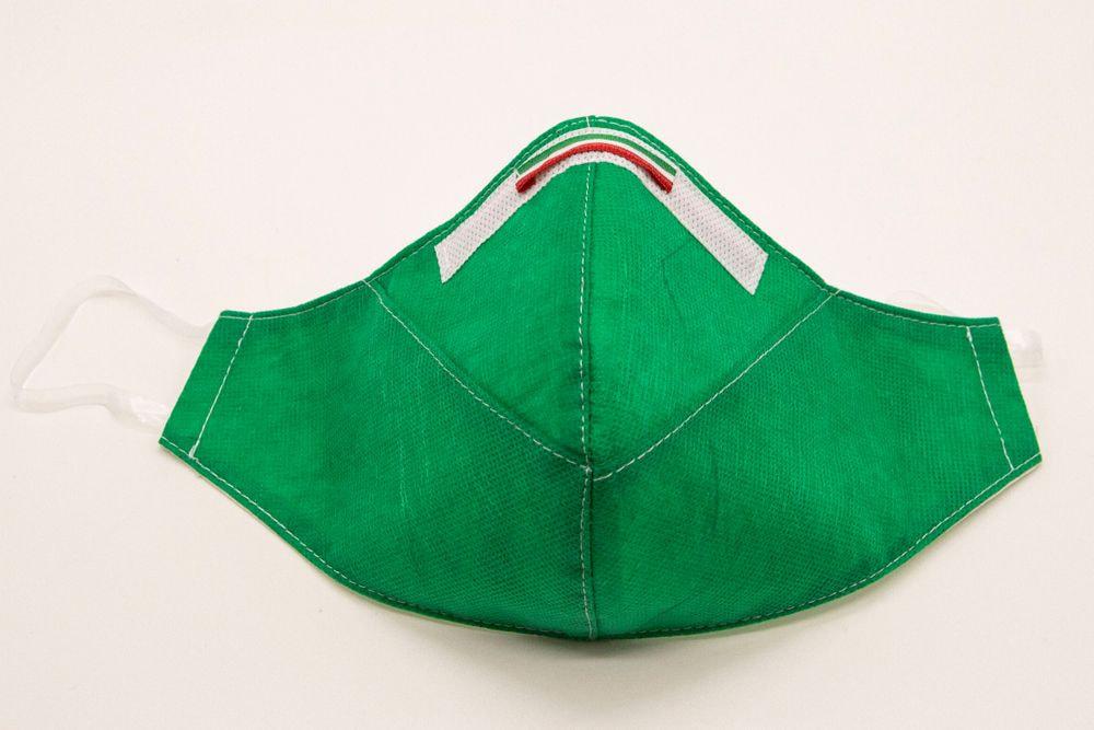 Mascherina Protettiva Fashion Lavabile Verde S E