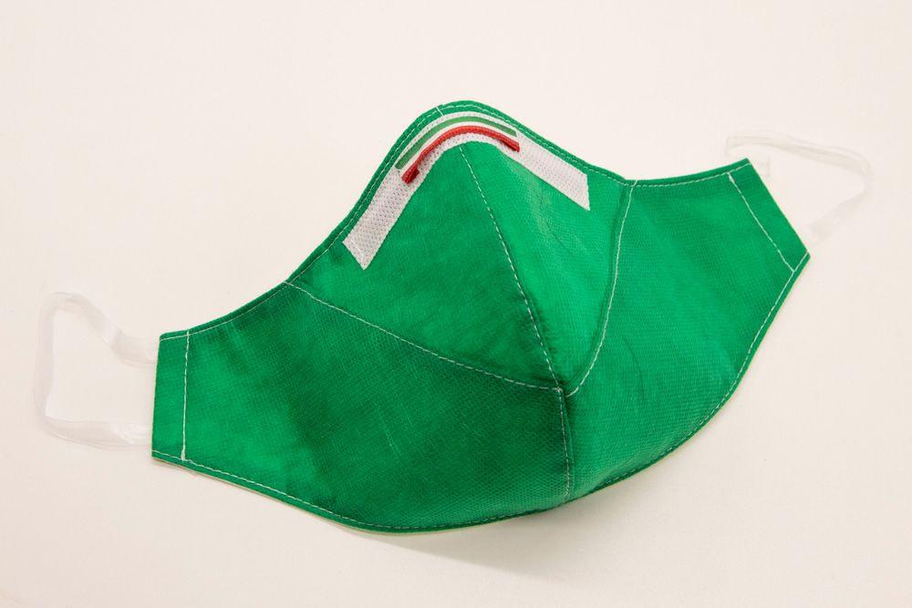 Mascherina Protettiva Fashion Verde M
