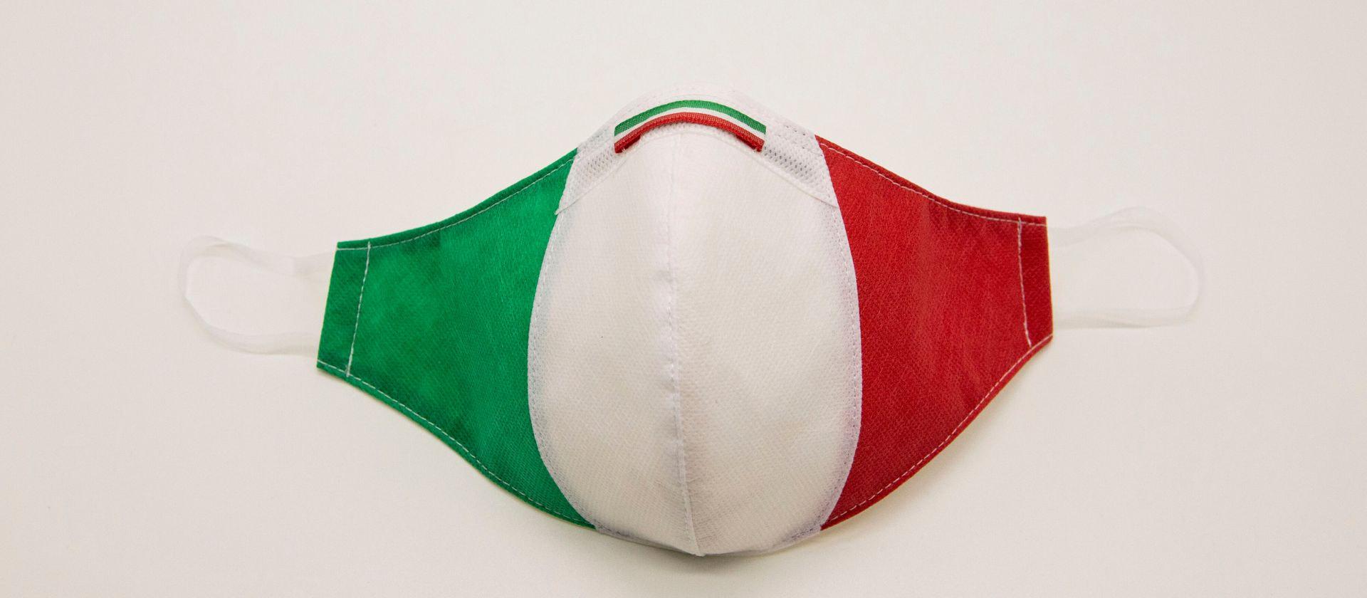 Mascherina Protettiva Fashion Lavabile Tricolore S