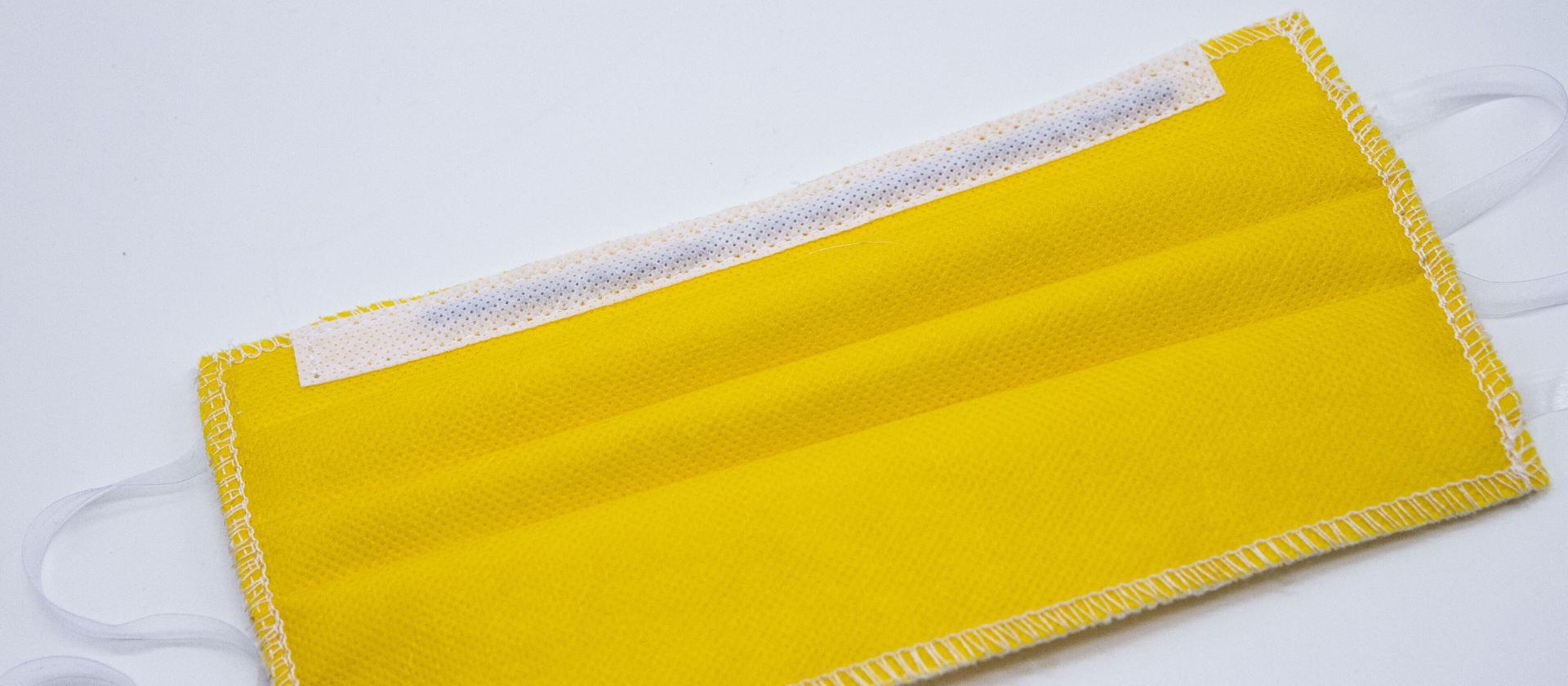 Mascherine Lavabili per Bambini 1-3 anni gialla
