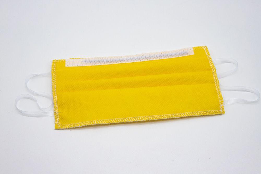 Mascherine Lavabili per Bambini 7-9 anni gialla