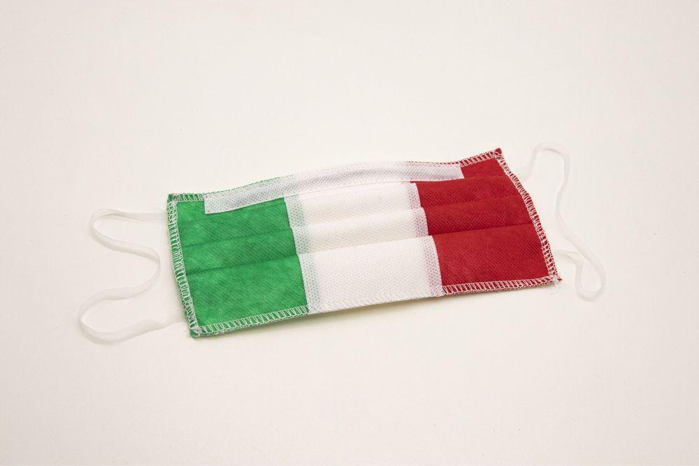 Mascherina lavabile per bambini 13-15 anni Tricolore