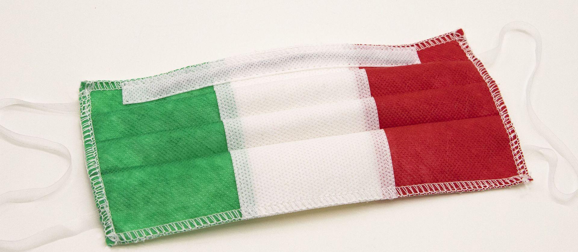 Mascherina Protettiva Lavabile tricolore