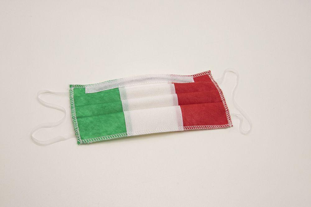 Mascherina lavabile per bambini 10-13 anni Tricolore