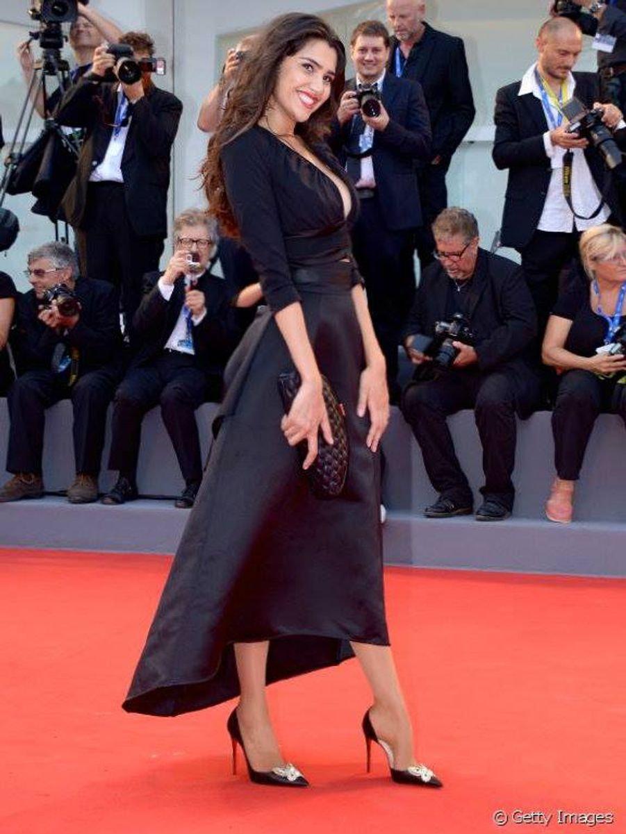 loredana, black, dress, model, red carpet