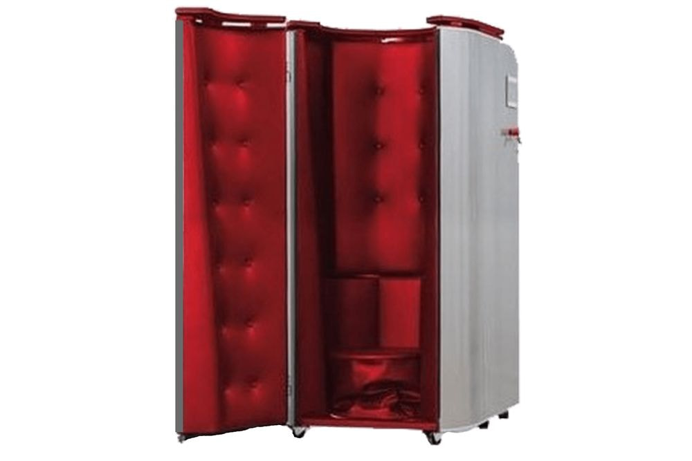 Red Cryotherapy Cabin