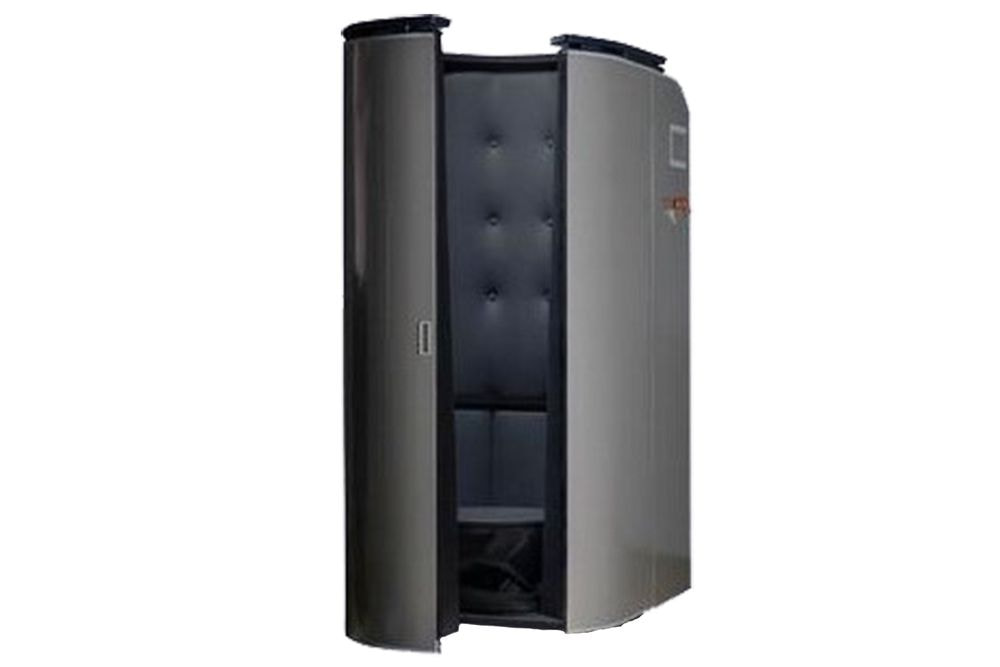 Black Cryotherapy Cabin