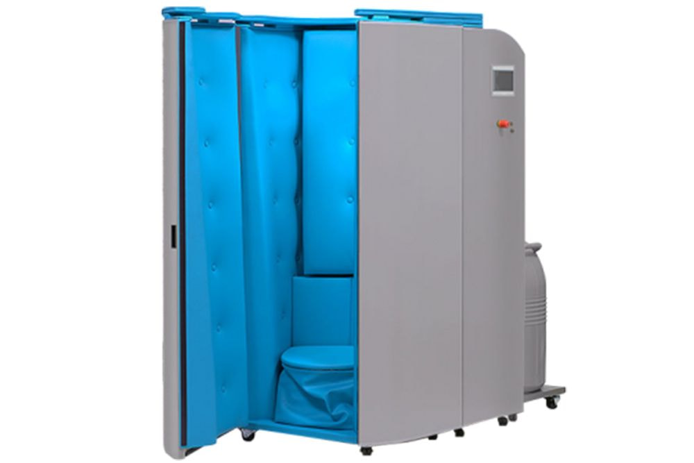 Blue Cryotherapy Cabin