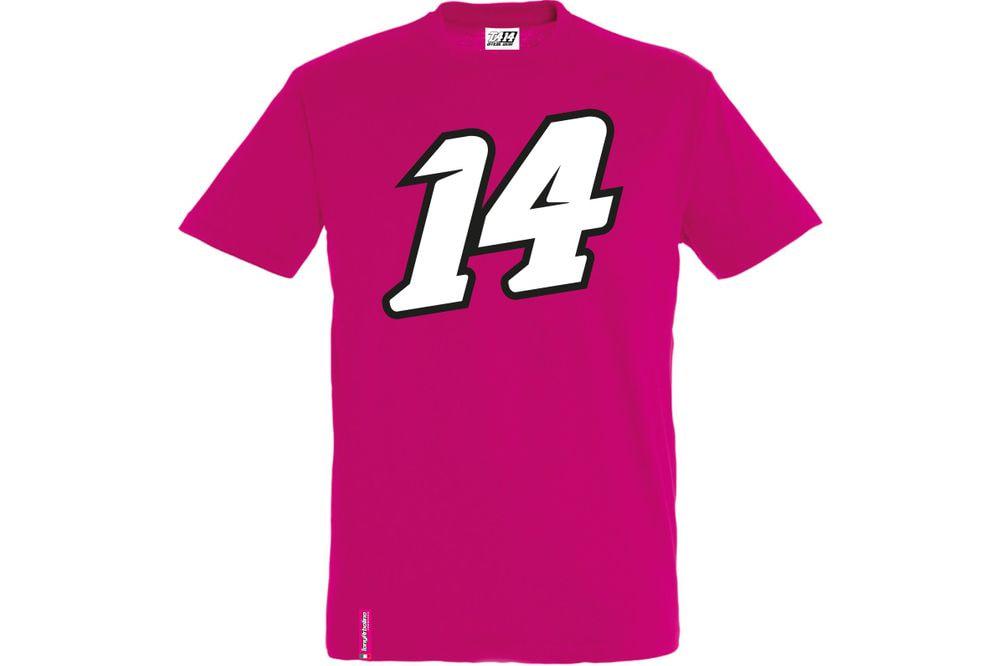 T-Shirt 14 Big Fucsia XS