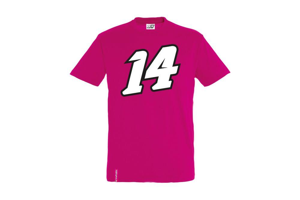 T-Shirt 14 Big Fucsia XXL