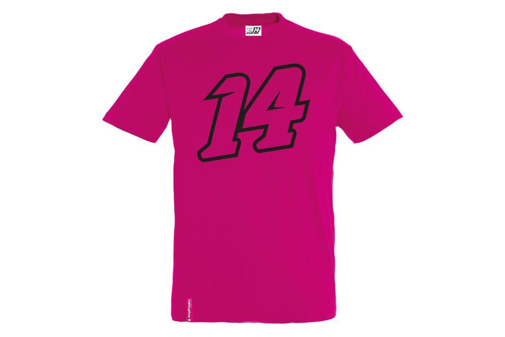 T-Shirt 14 Big Double Fucsia M