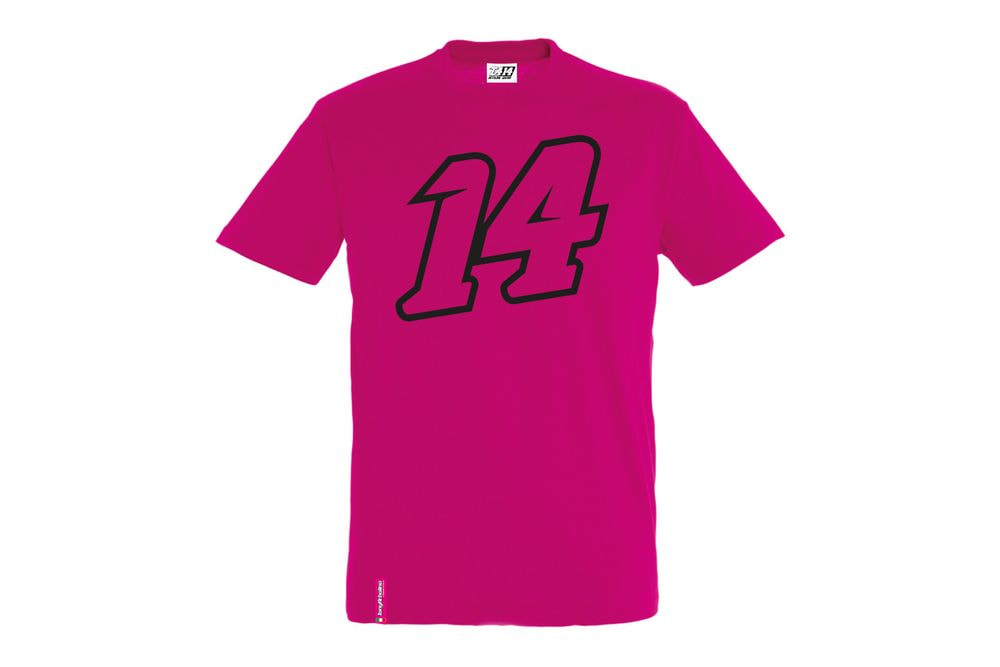T-Shirt 14 Big Double Fucsia