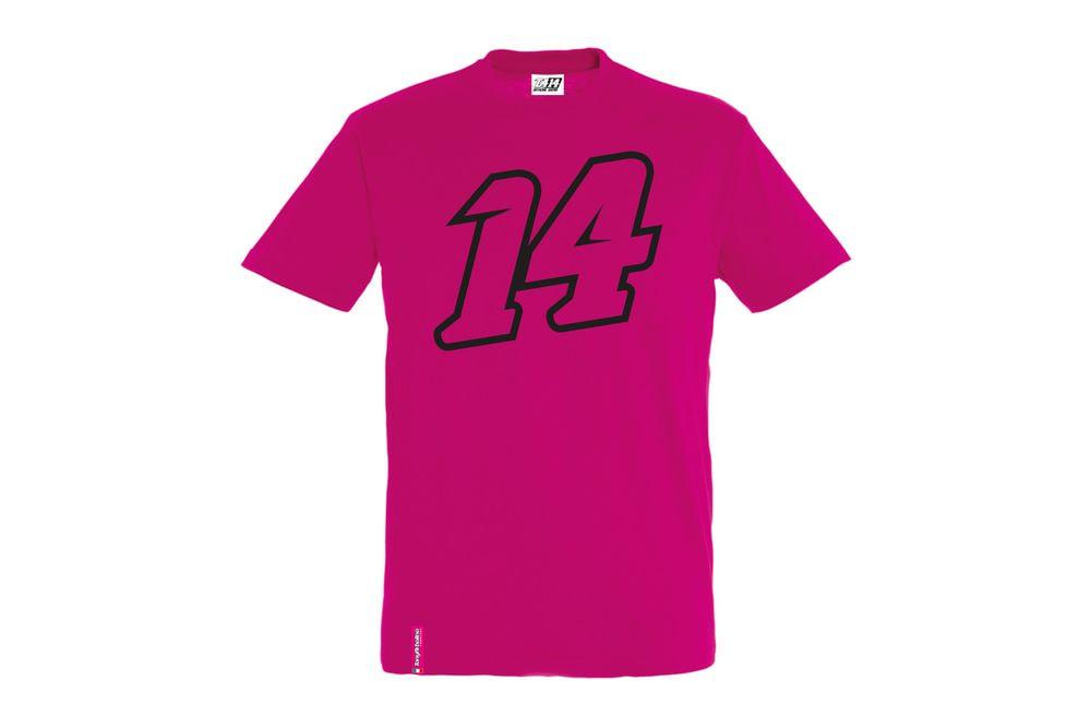 T-Shirt 14 Big Double Fucsia XS