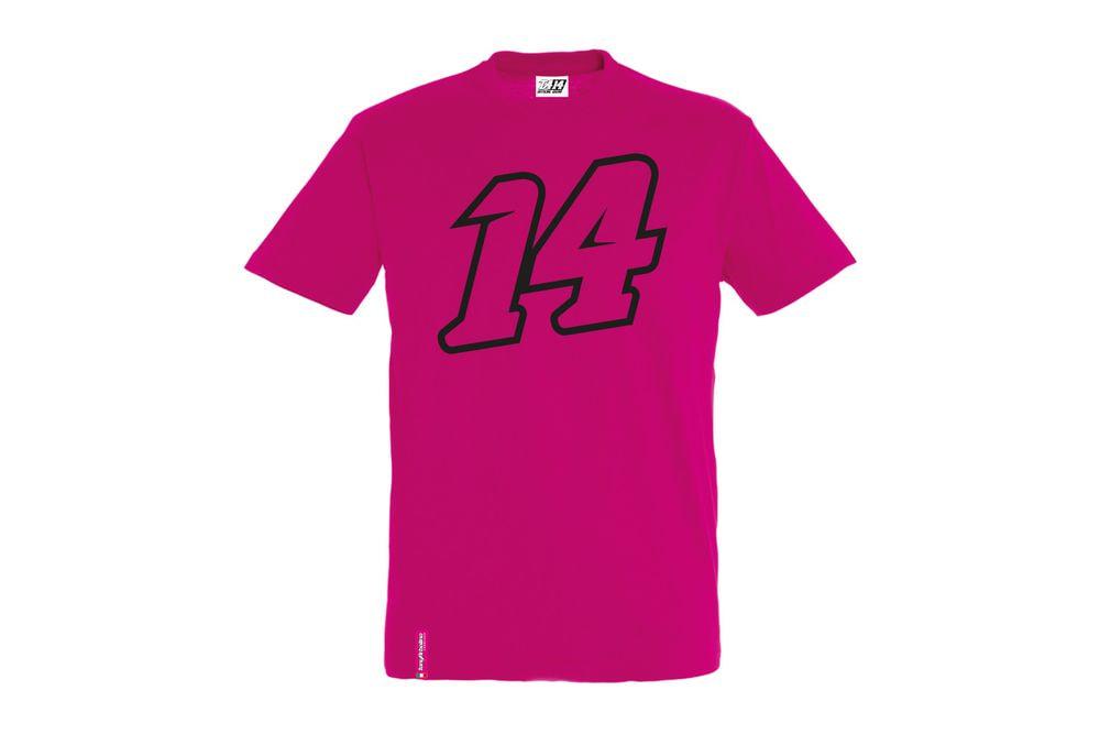 T-Shirt 14 Big Double Fucsia XL