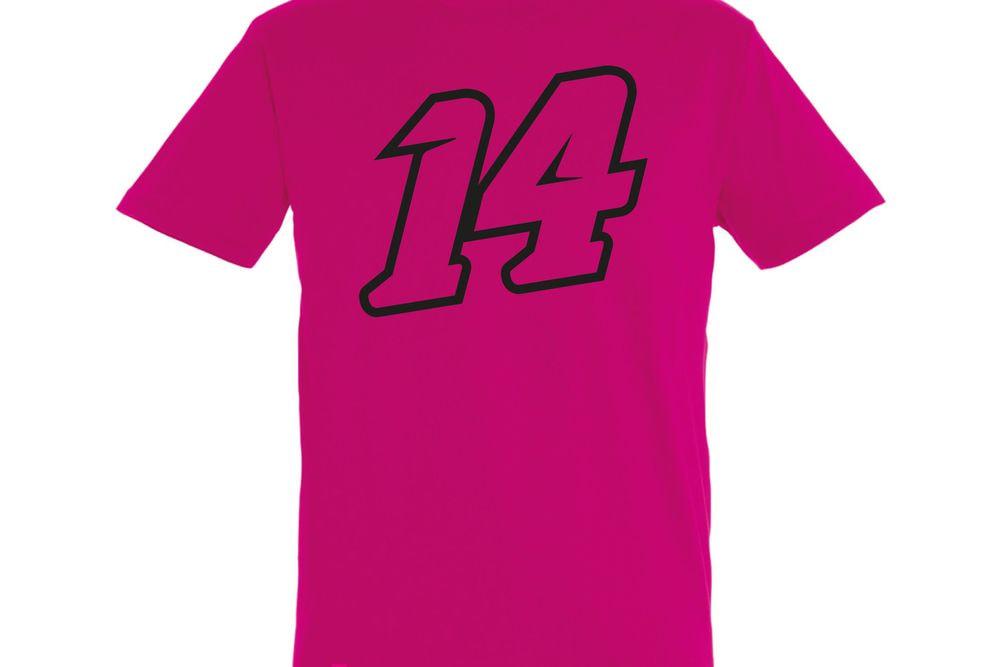 T-Shirt 14 Big Double Fucsia L
