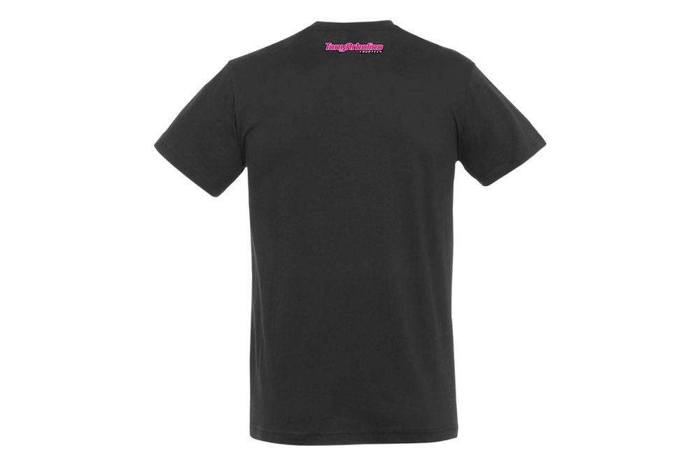 T-Shirt Shark Attack Black XS