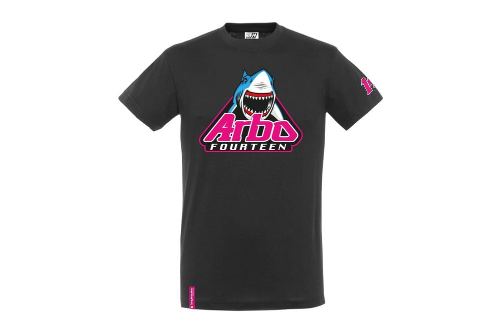 T-Shirt Shark Attack Black