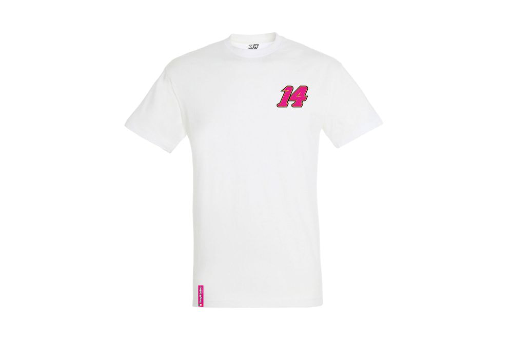T-Shirt 14 Of My Heart White M