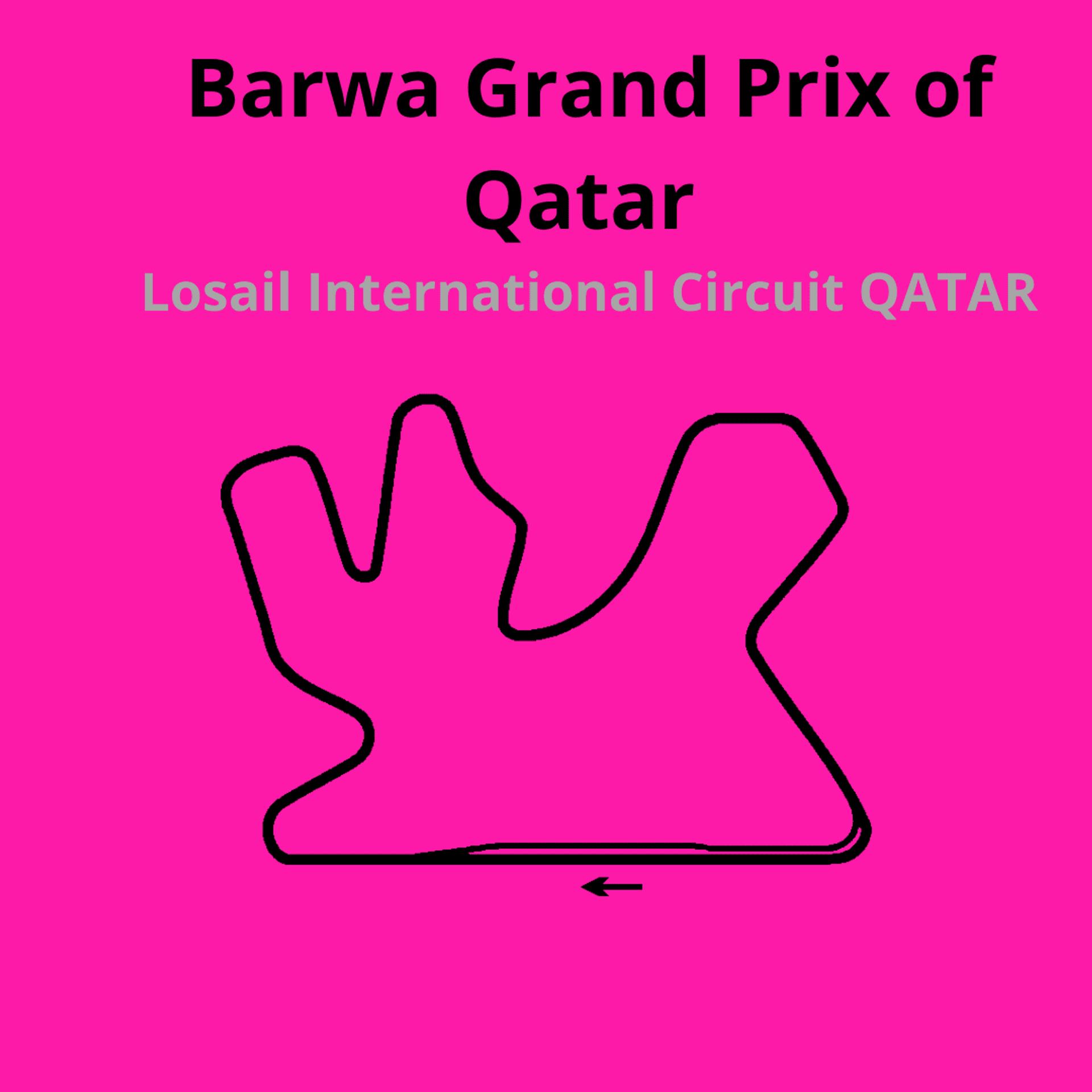 Barwa Grand Prix . Scopri tutte le gare del moto mondiale 2021.Le caratteristiche di ogni circuito, i record e difficoltà.Segui insieme a noi tutte le gare di Tony Arbolino nella sua nuova avventura in Moto2