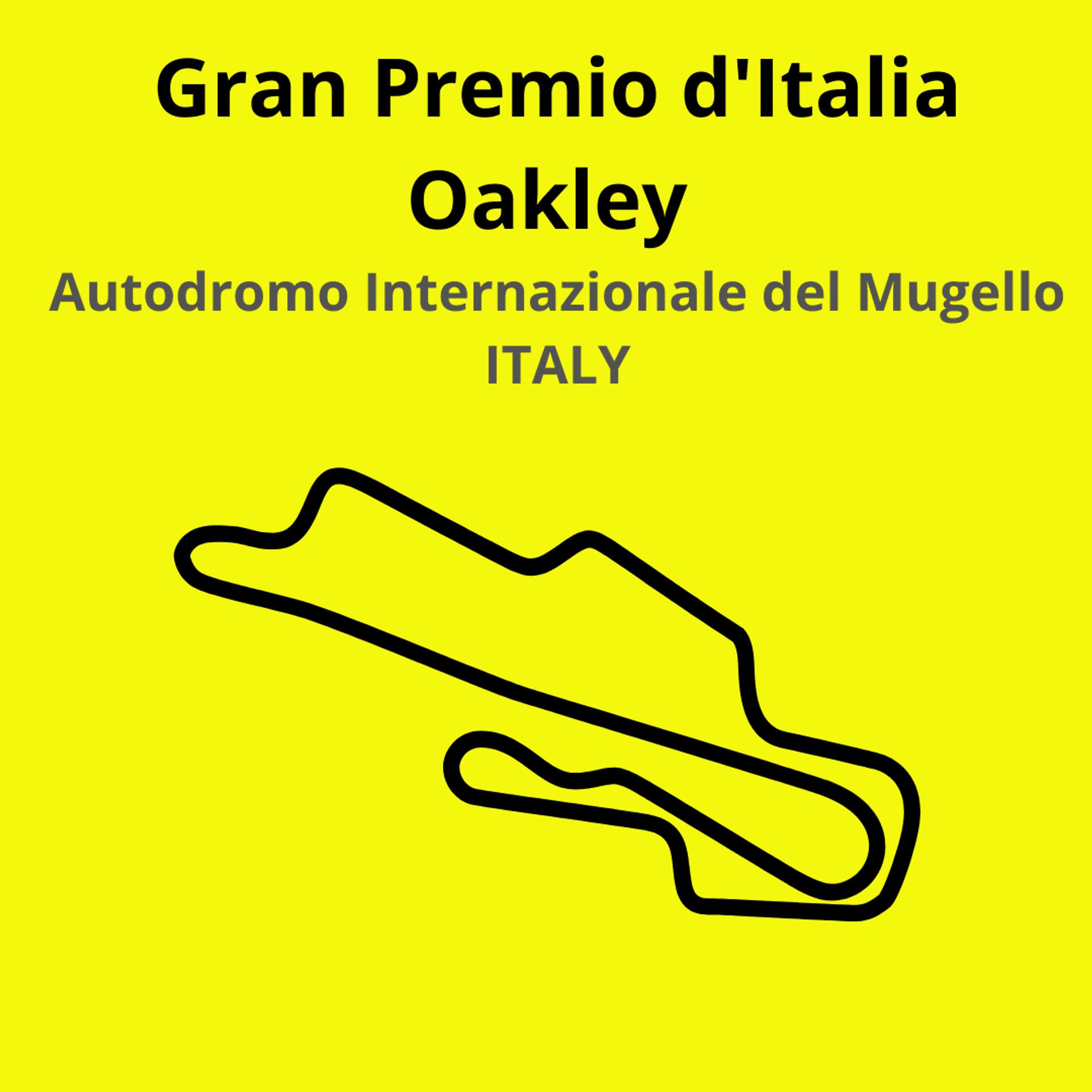 Gran Premio D'Italia. Scopri tutte le gare del moto mondiale 2021.Le caratteristiche di ogni circuito, i record e difficoltà.Segui insieme a noi tutte le gare di Tony Arbolino nella sua nuova avventura in Moto2