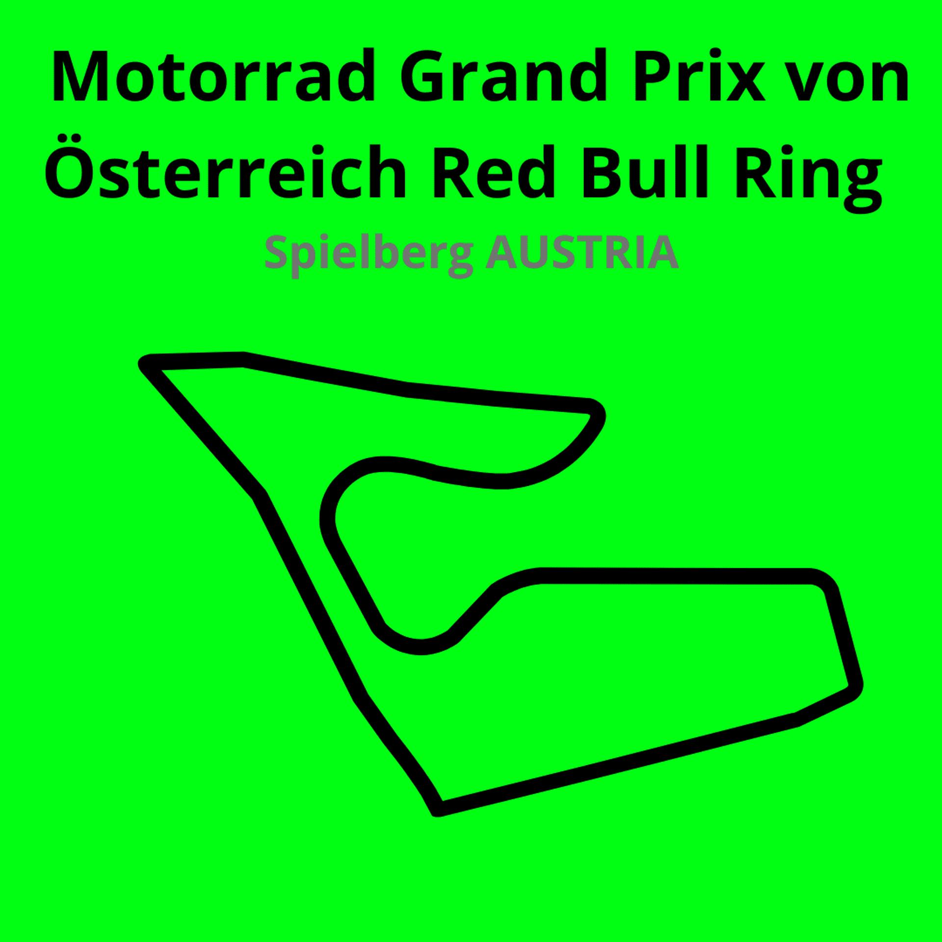 Motorrad Grand Prix Red Bull Ring. Scopri tutte le gare del moto mondiale 2021.Le caratteristiche di ogni circuito, i record e difficoltà.Segui insieme a noi tutte le gare di Tony Arbolino nella sua nuova avventura in Moto2