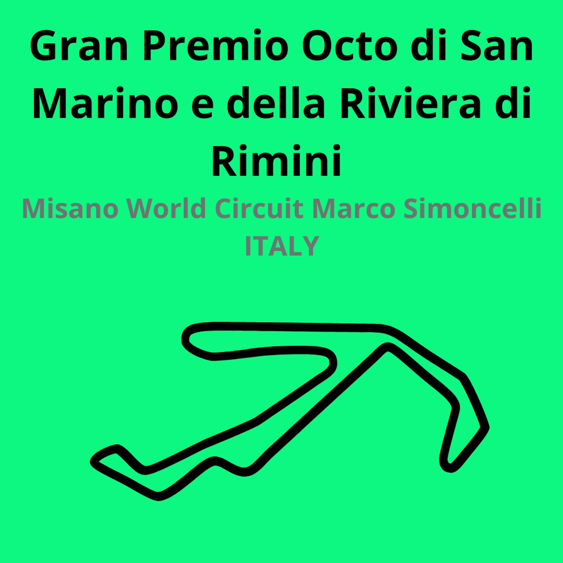 Gran Premio cto di San Marino. Scopri tutte le gare del moto mondiale 2021.Le caratteristiche di ogni circuito, i record e difficoltà.Segui insieme a noi tutte le gare di Tony Arbolino nella sua nuova avventura in Moto2