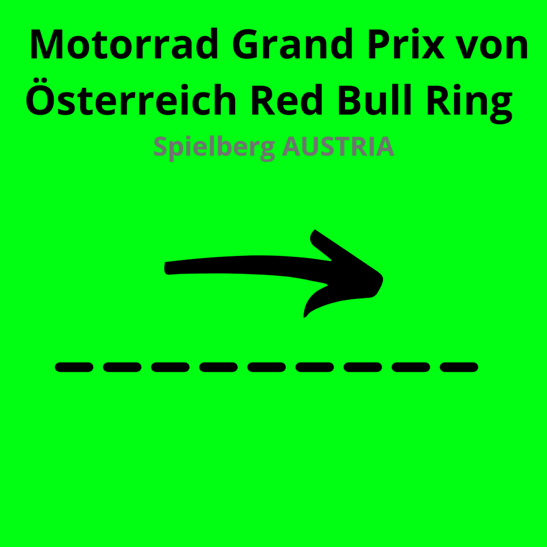 Motorrad Grand Prix von Österreich Red Bull Ring
