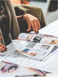 Featuring magazines