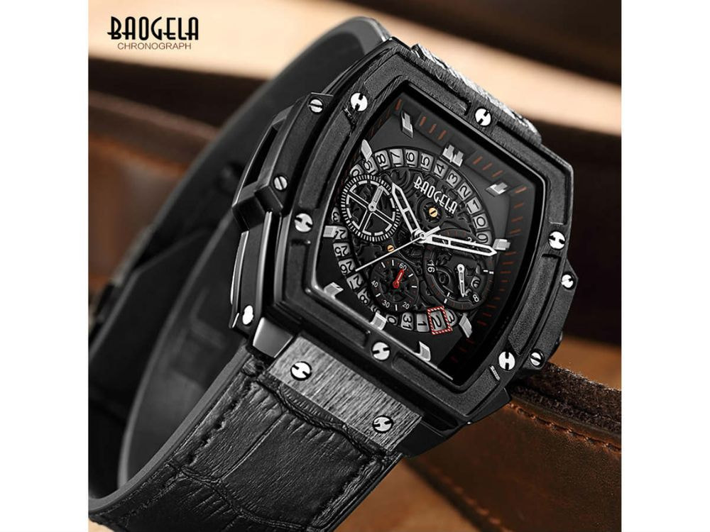 Mens Chronograph luxury watch