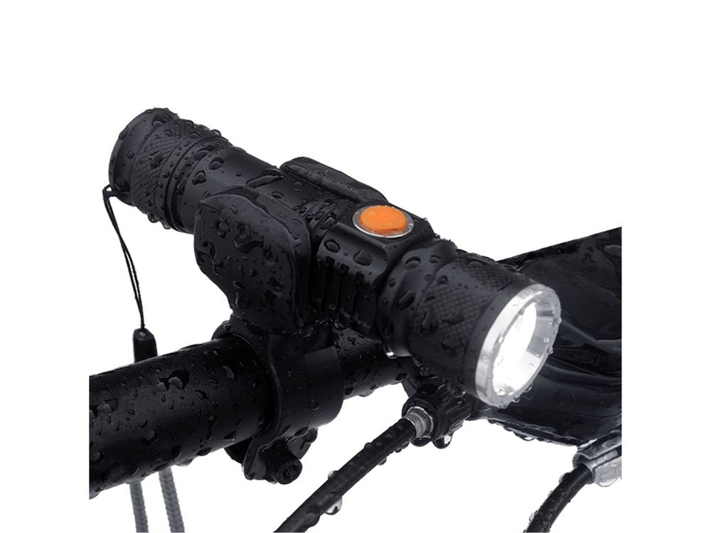 BCXYMQ 2000 lumen Super Light USB Rechargeable T6 LED Bicycle Light Waterproof Built-in Battery Front Bike Light