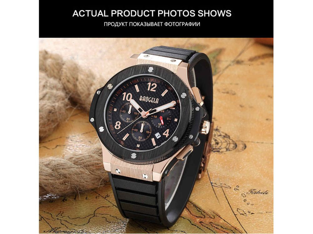Luxury Sports  Quartz-Watch – limited edition