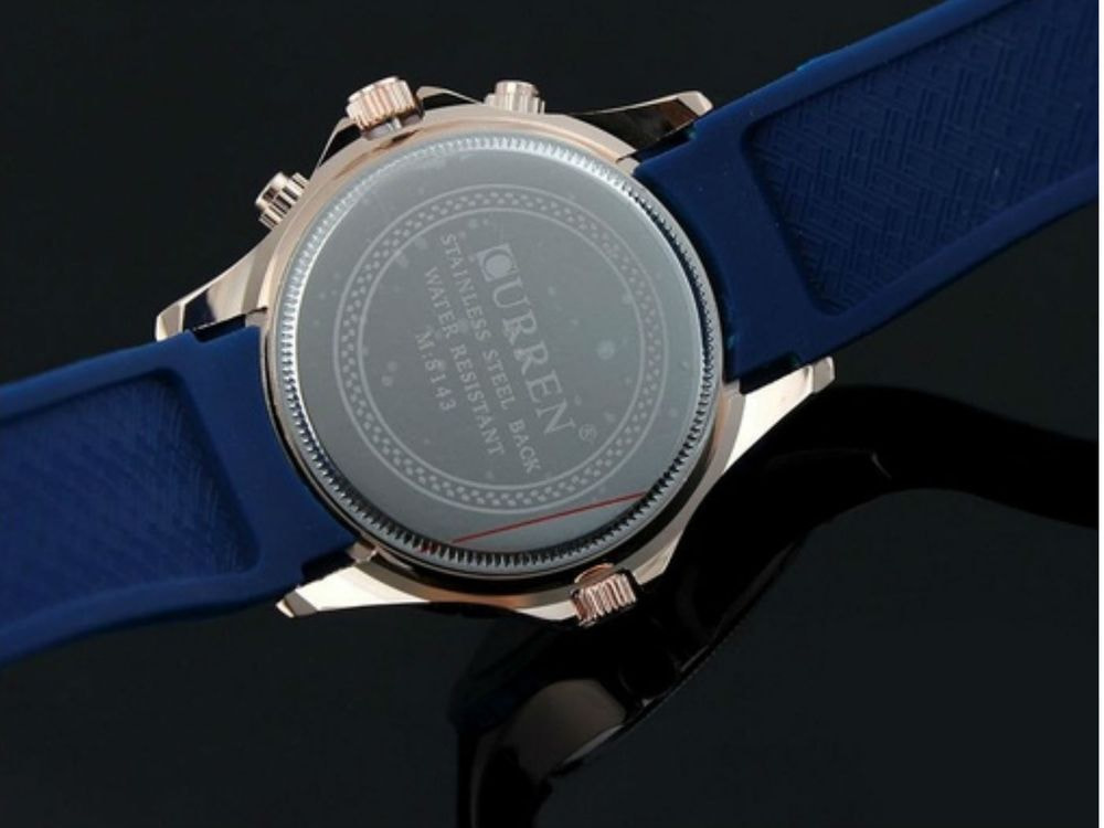Fashion High Quality Watch - Blue Band