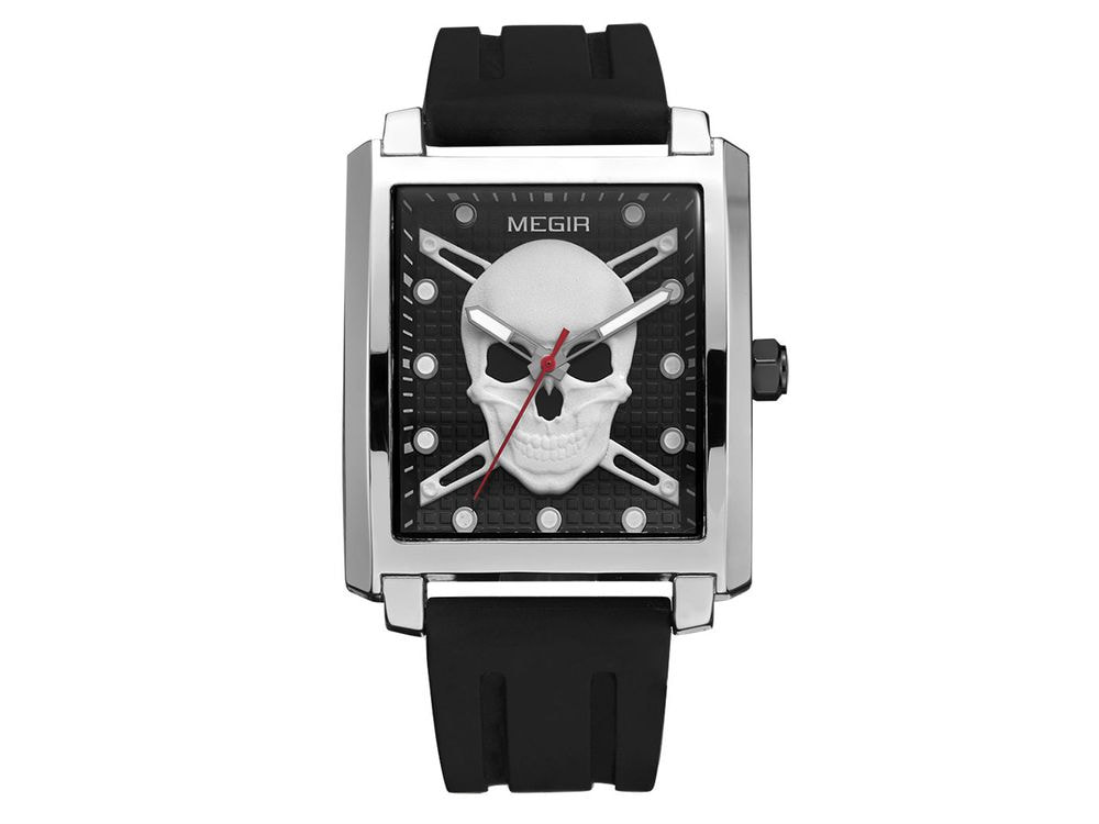Luxury Man Skull Watch
