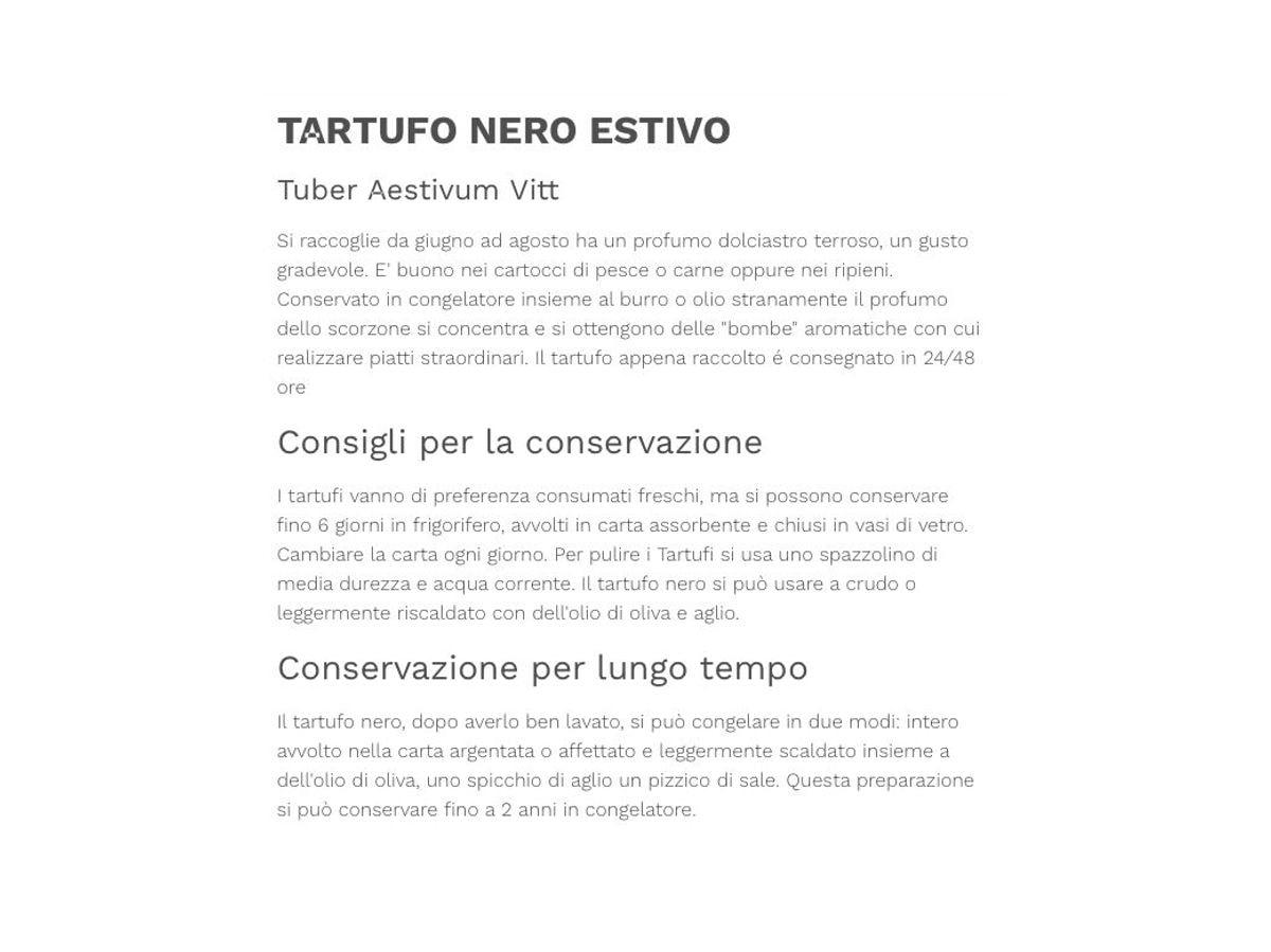 TARTUFO NERO UNCINATO  (Tuber Uncinatum Chatin) 100gr.