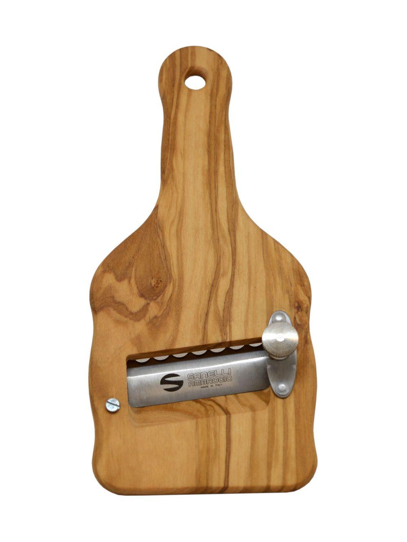 Truffle slicer in wood
