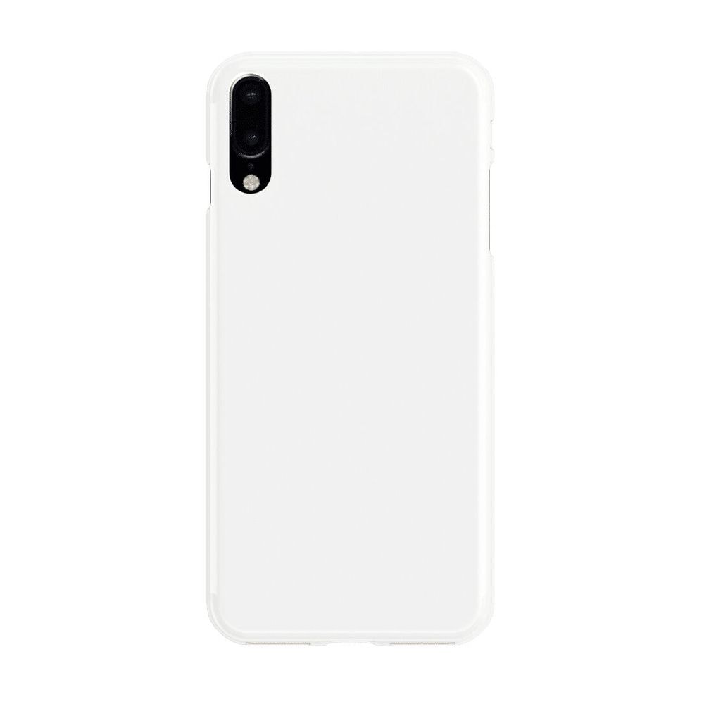 White basic phone case