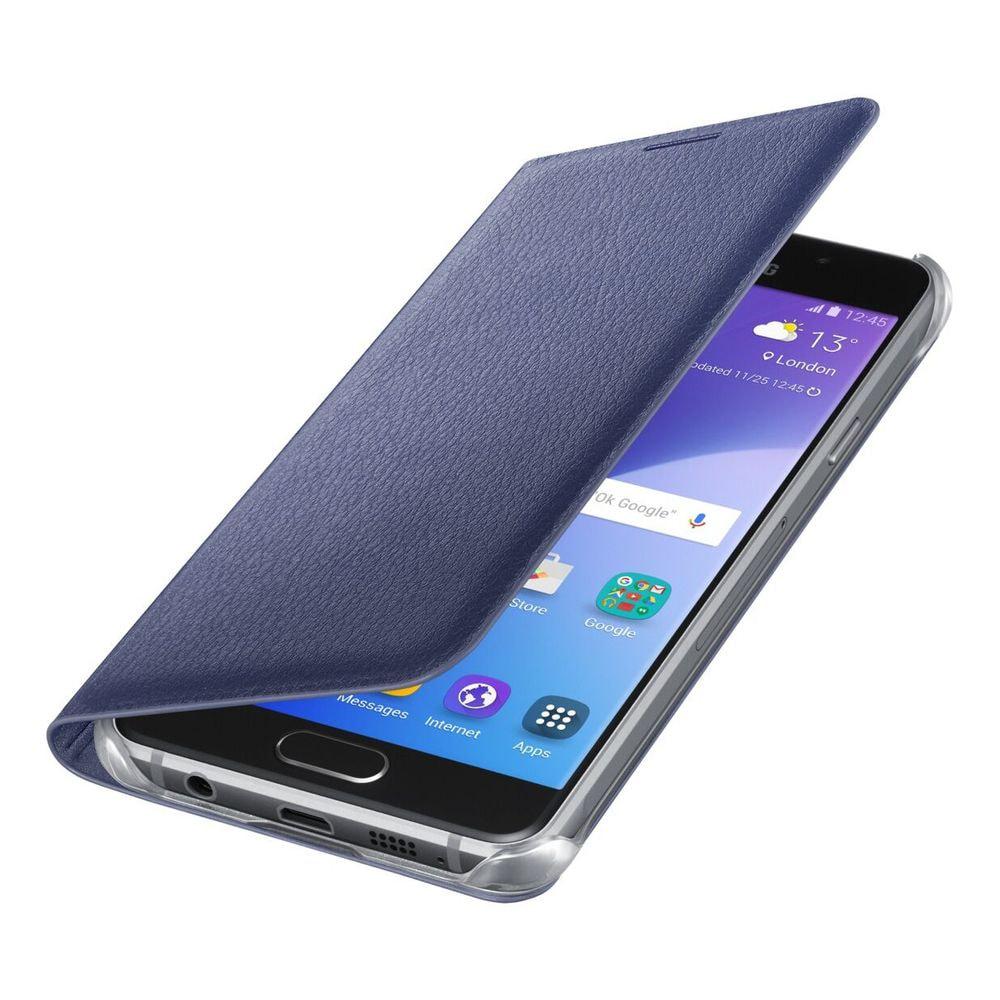 Blue flip case
