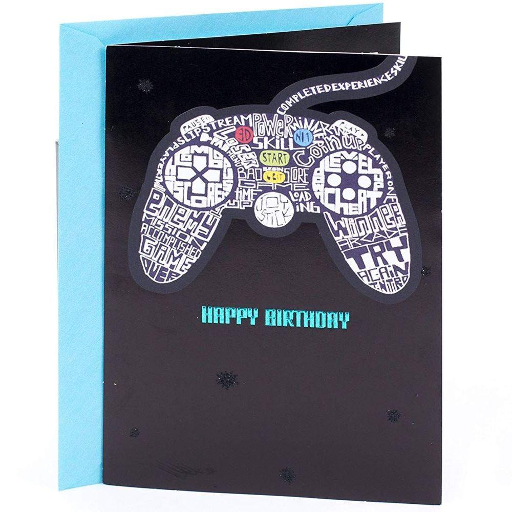 Gaming Birthday Card
